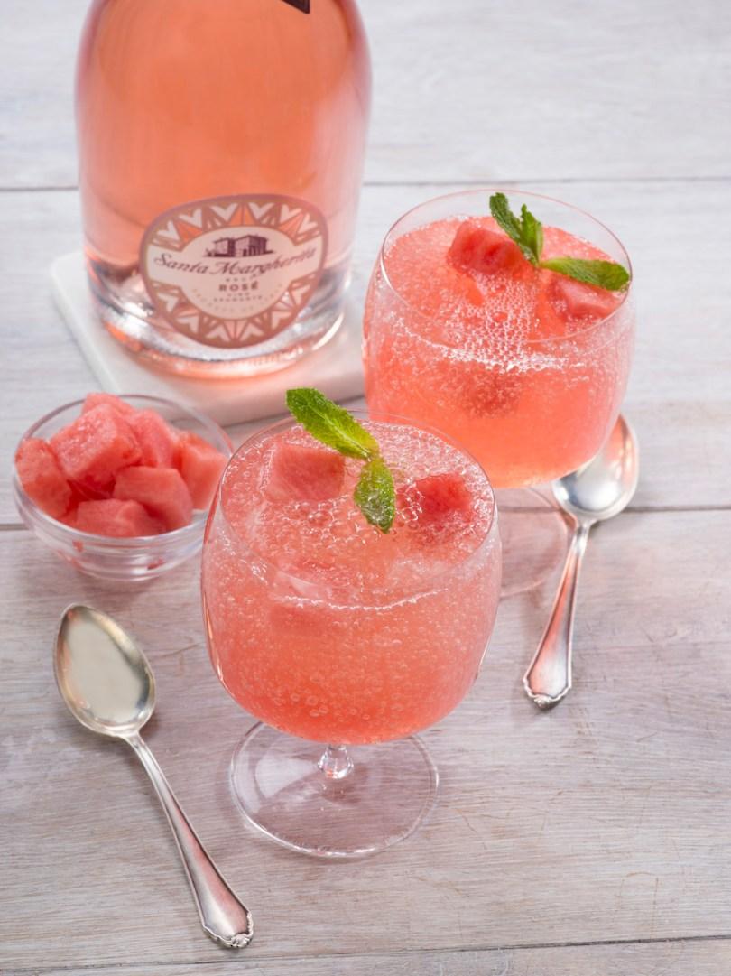 Watermelon frose recipe - how to make watermelon rosé