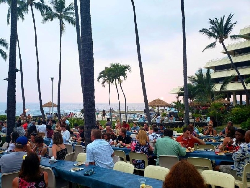 Royal Kona Resort Hawaiian luau