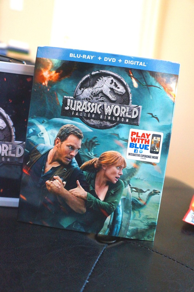 Jurassic World Fallen Kingdom Blu-ray is available now #TeamJurassic