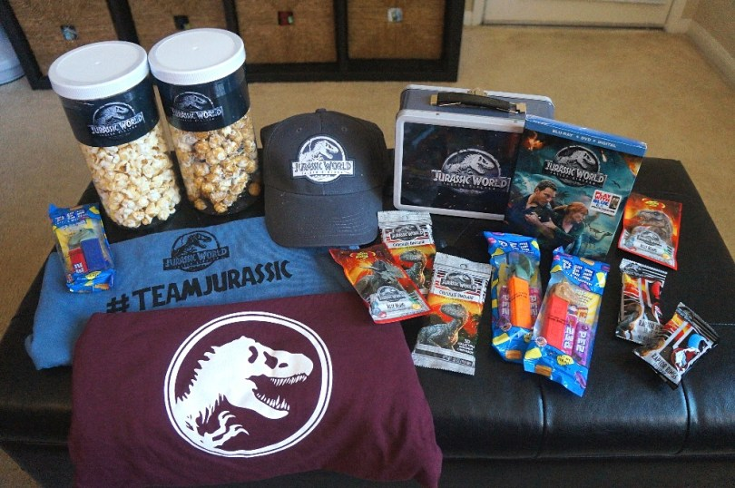 Jurassic World Fallen Kingdom Blu-ray/DVD release date movie night kit