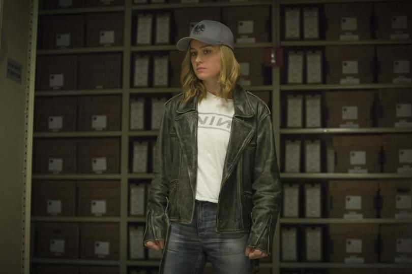 Brie Larson is Carol Danvers in Captain Marvel movie