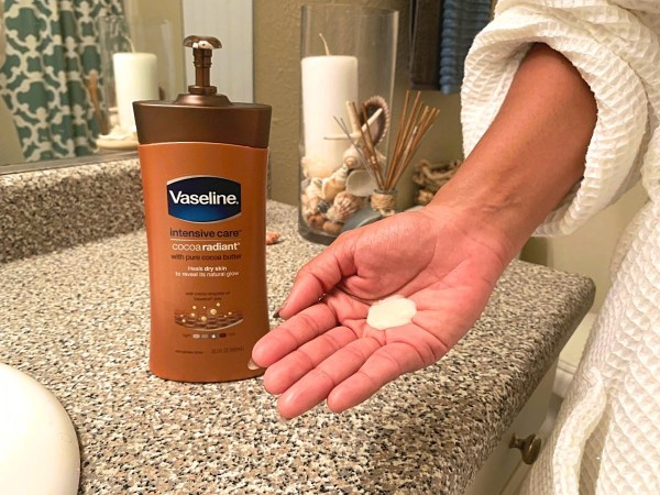 Keep your skin hydrated with Vaseline Intensive Care lotion great winter skin products