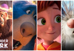 Wonder Park characters Peanut, Boomer, June, Steve - this movie is out in theaters March 15, 2019