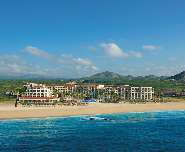 An aerial view of Dreams Los Cabos Golf Resort and Spa