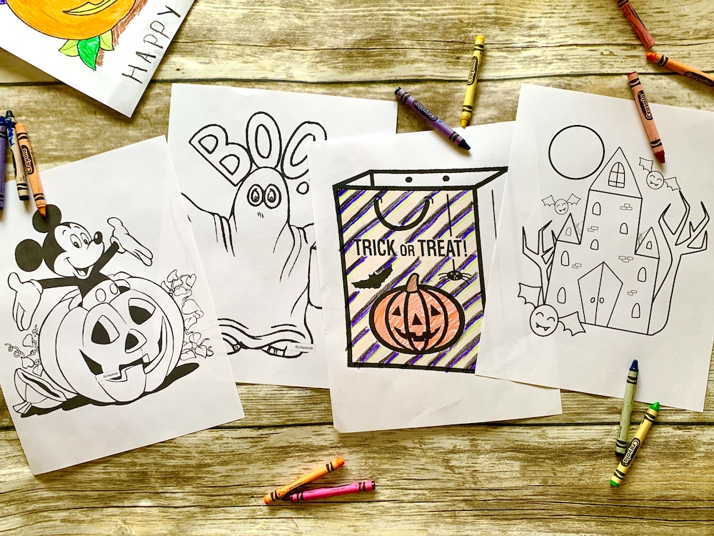 - 27 Free Printable Halloween Coloring Pages For Kids - Print Them All!