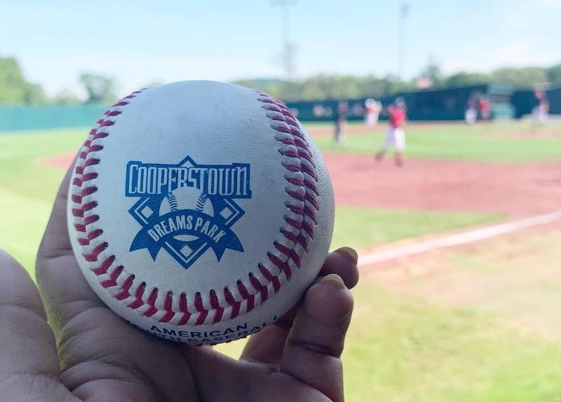 Custom Cooperstown Dreams Park baseball