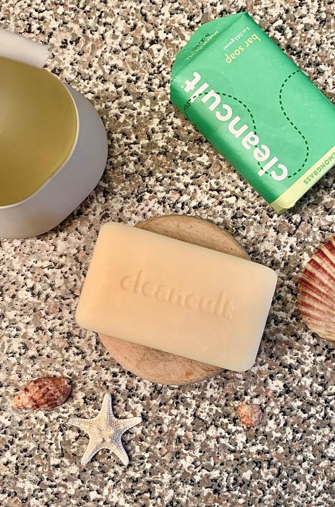 cleancult lemongrass bar soap