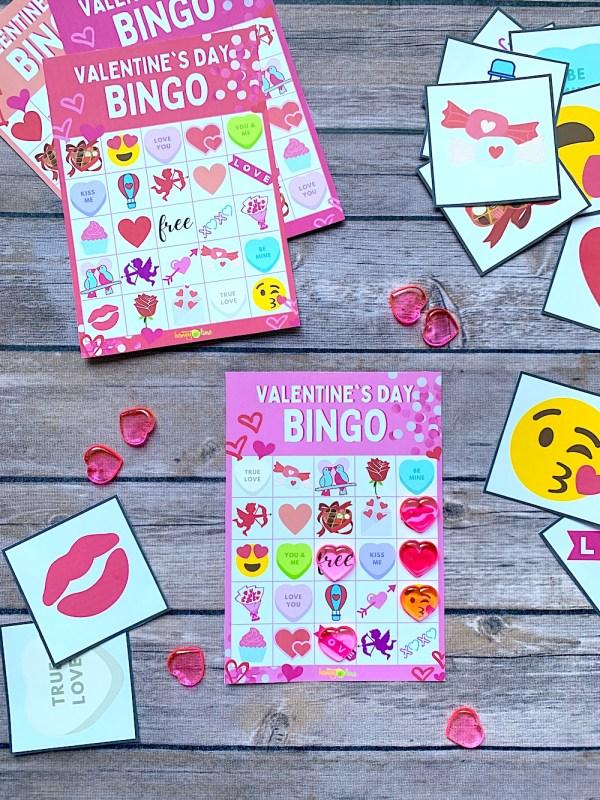 Free Valentine's Day bingo cards