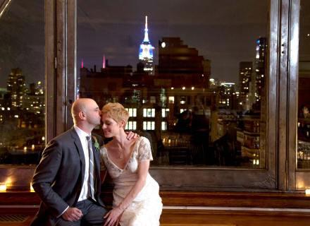 Newlyweds at Manhattan Penthouse, a testimonial