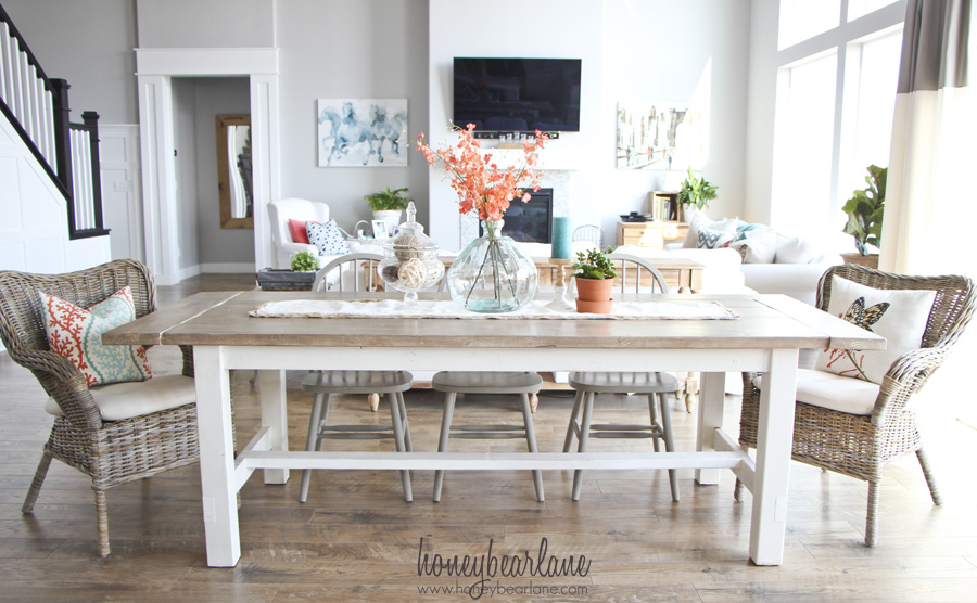Farmhouse Bench Table