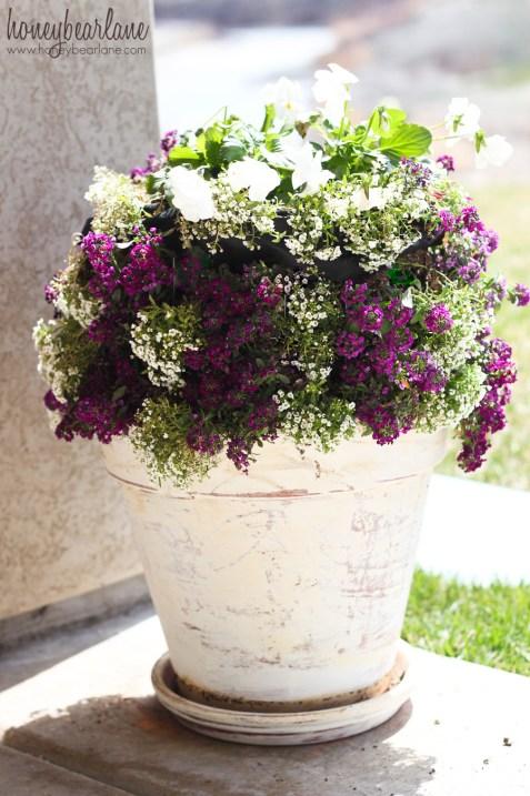 mini flower tower