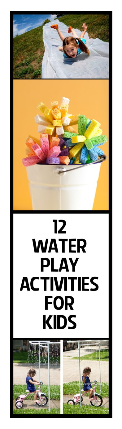 12 Water Play Activities for Kids
