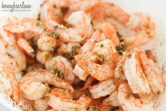 shrimp rub with mccormicks spices