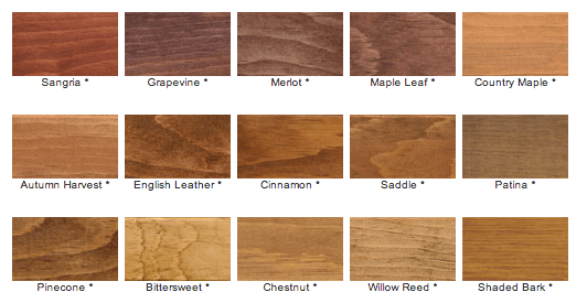 Floor Stain Colors