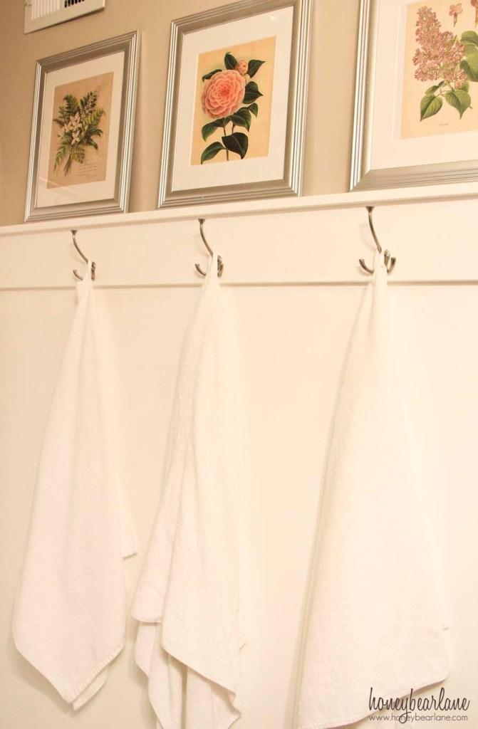 diy towel racks