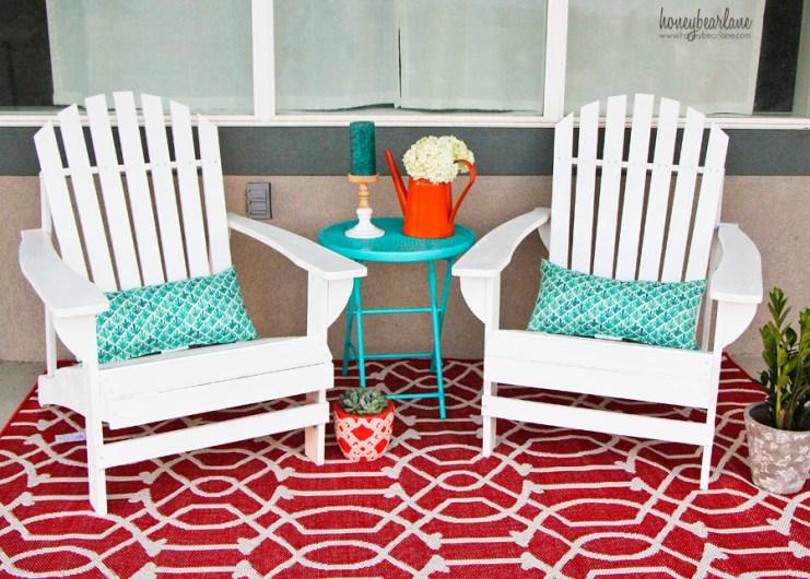 easy patio makeover