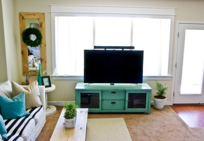 family room techoration