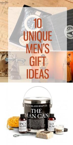 10 unique mens gift ideas