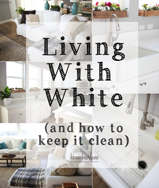 living with white