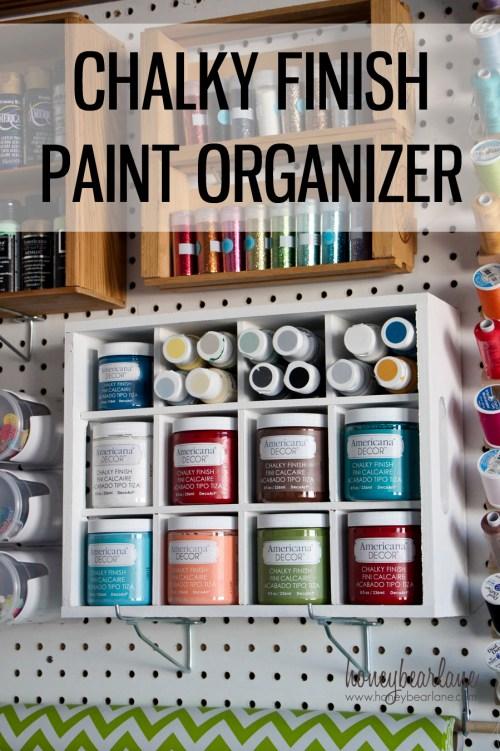 paint organizer