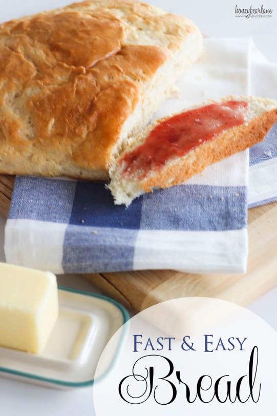 fast and easy bread