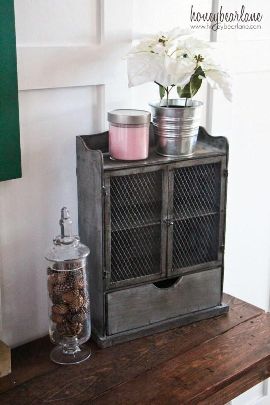 metal mini cabinet
