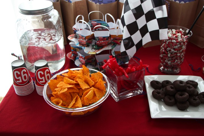 cars party food_2