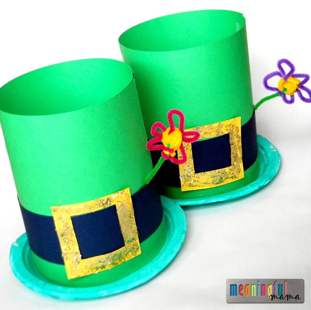 20 Colorful St Patrick S Day Crafts