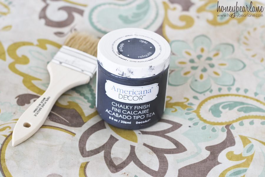 relic chalky finish paint