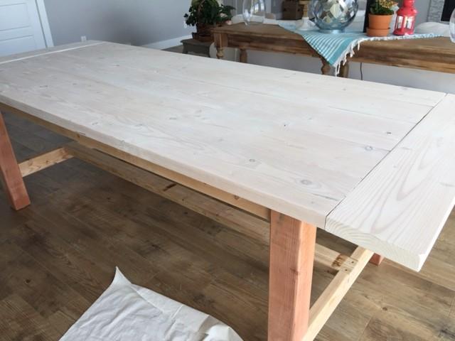 easy diy weathered wood finish