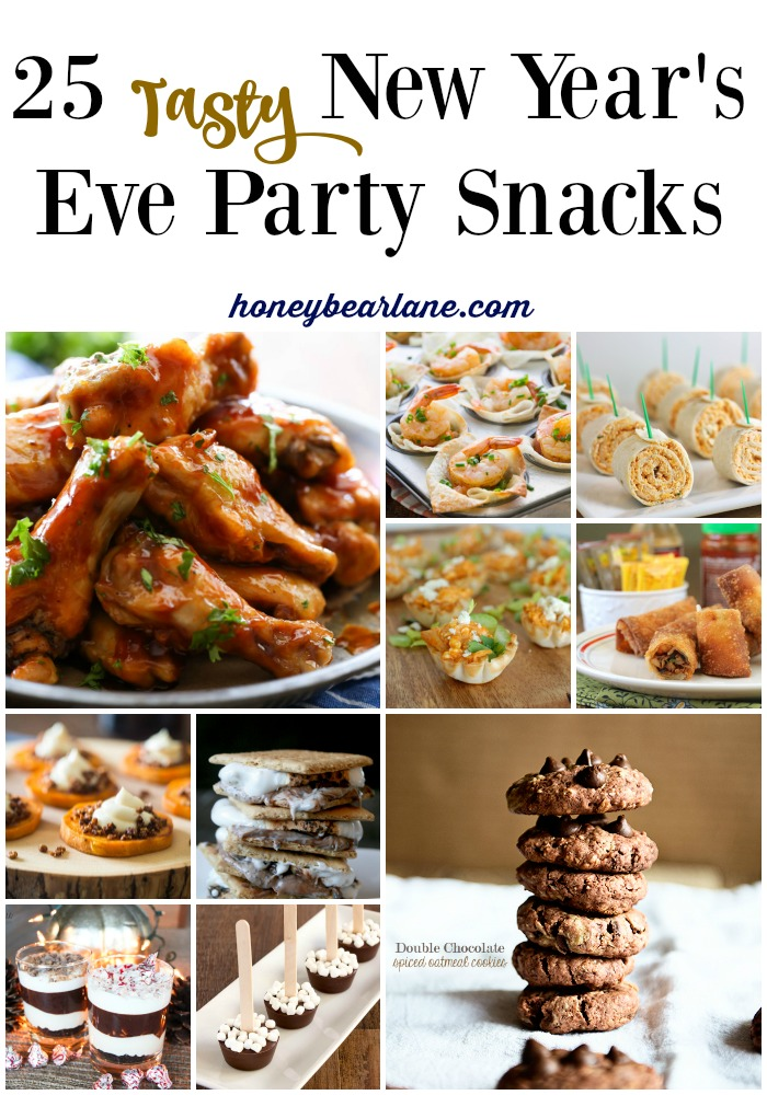 New Year's Eve party snacks