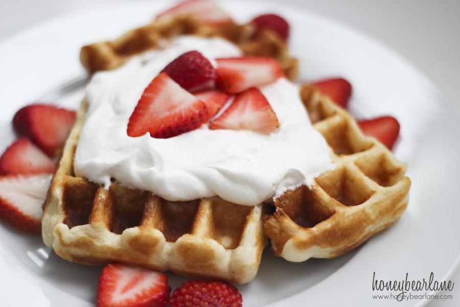 super easy waffles