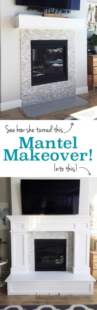 mantel makeover