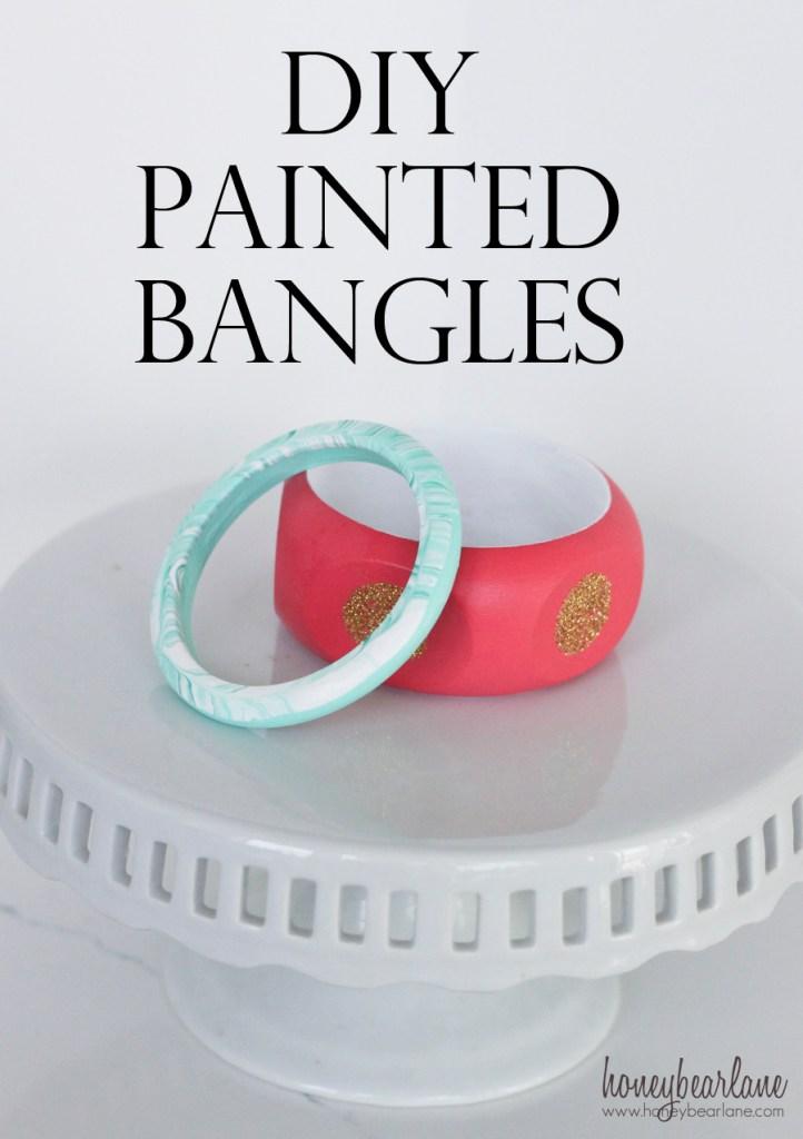 diy painting bangles