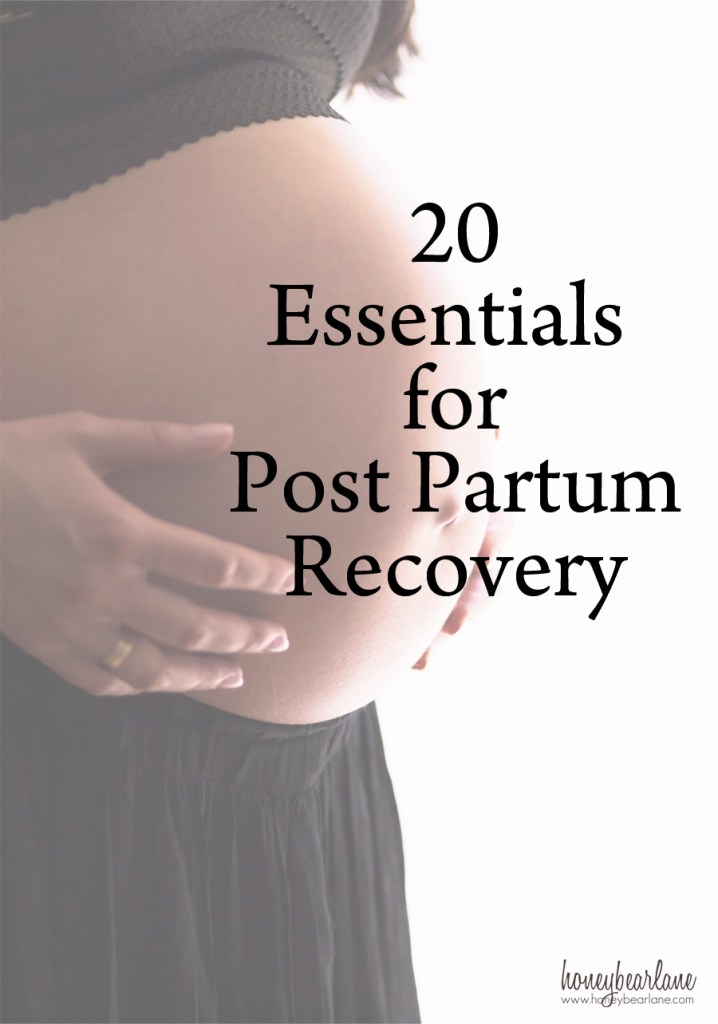 post partum recovery