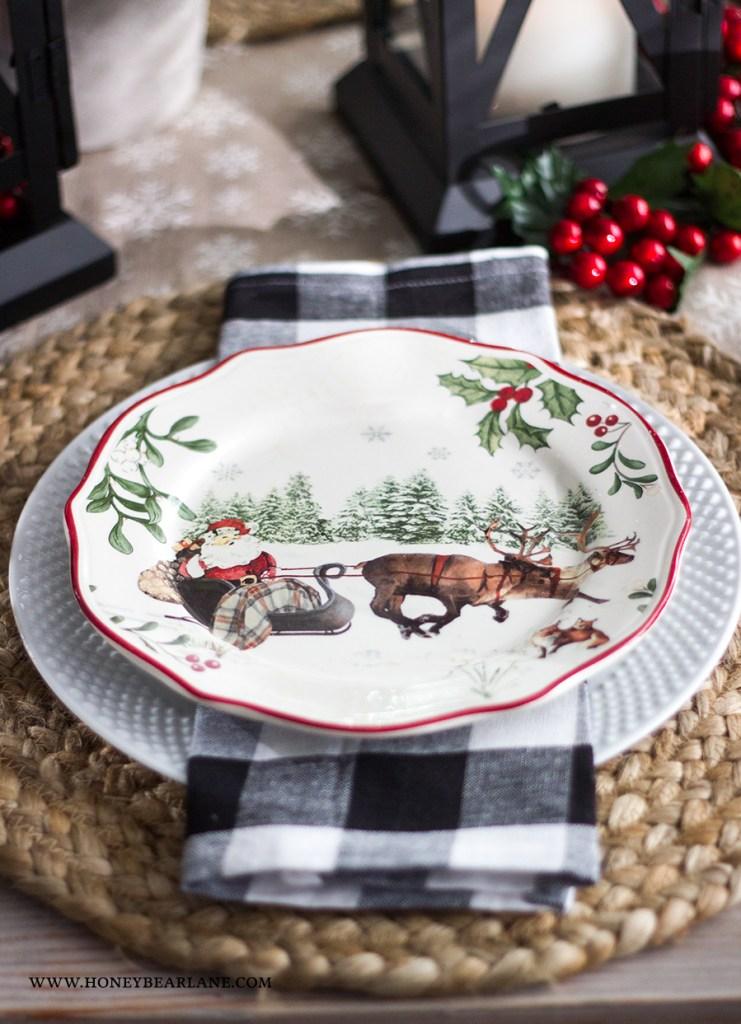 santa-plate