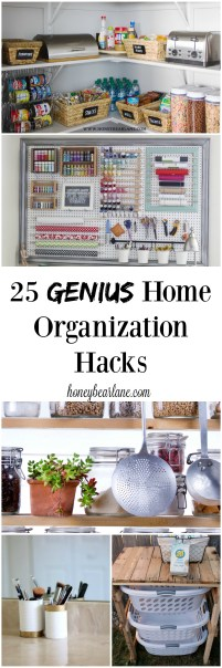 These 25 genius home organization hacks are easy and life changing!