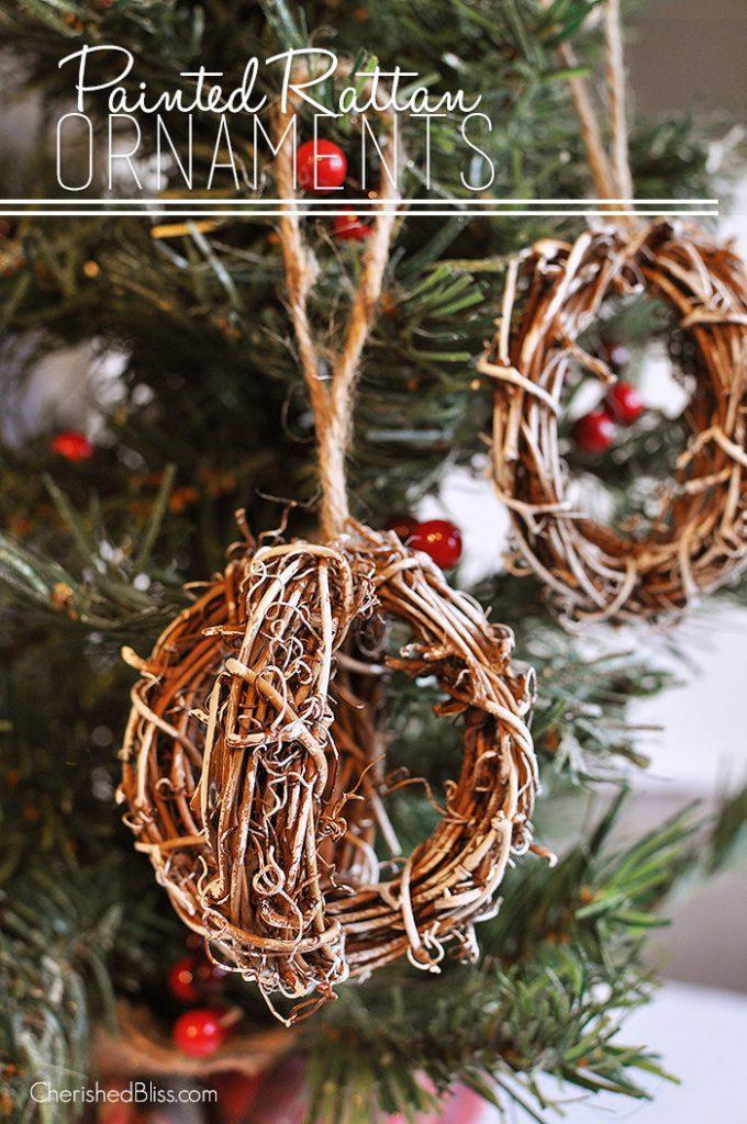 25 Farmhouse Style DIY Ornaments Honeybear Lane