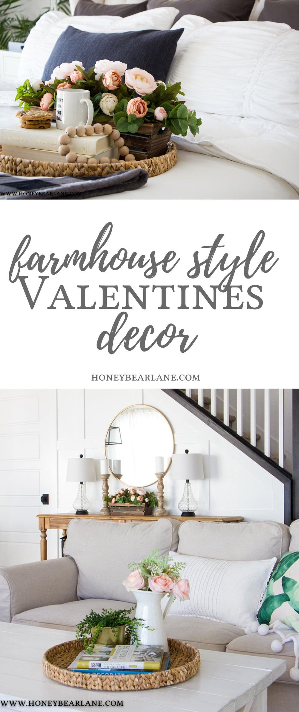 Farmhouse Style Valentines Decor Honeybear Lane