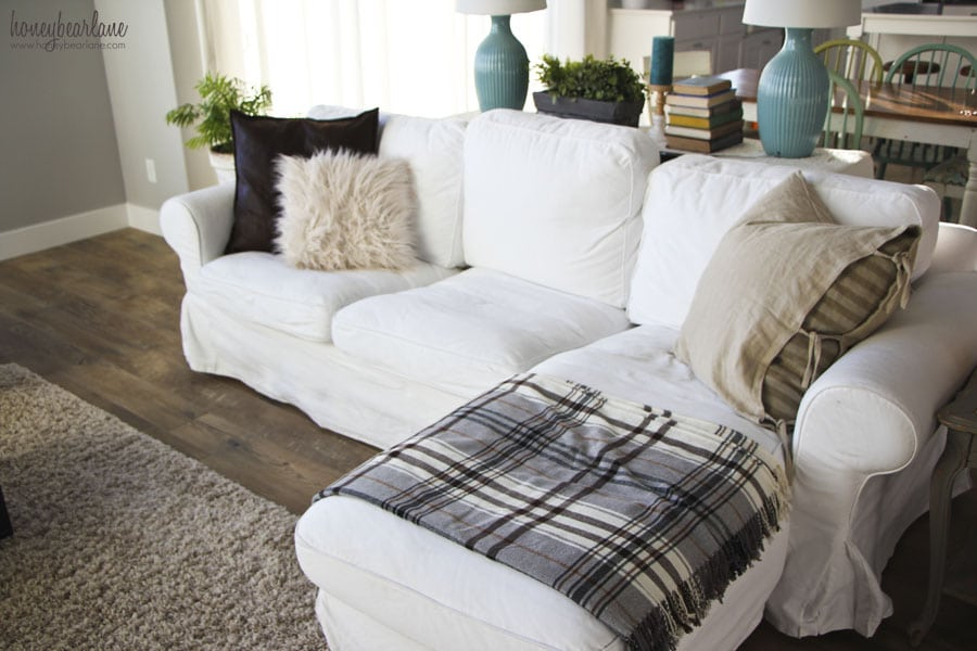 Double Chaise Sofa Sectional