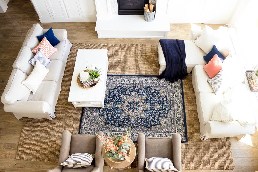 layering rugs