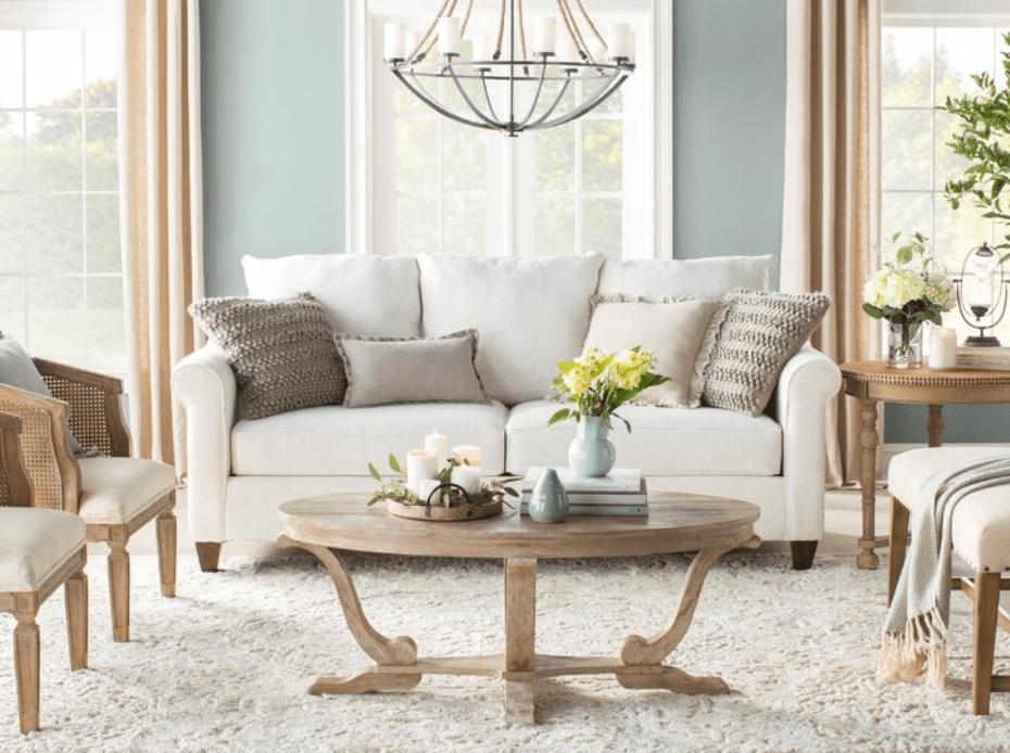 farmhouse coffee table from Joss and Main