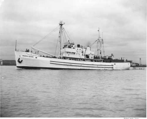 Pacific Queen after rebuild in 1949