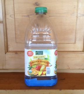 2 liter plasic bottle