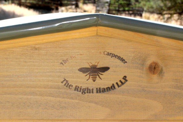 """""""The Beekeeper's Carpenter"""" The Right Hand LLP."""