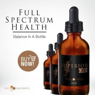 Experience Full Spectrum Health with HoneyColony's Superior CBD Oil