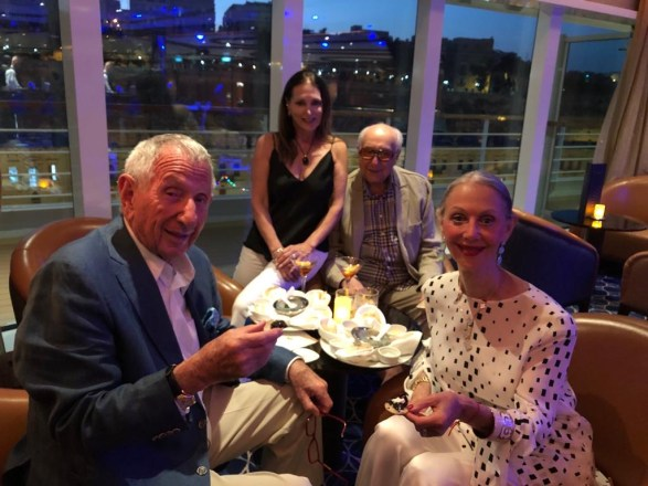 New Friends on the Seabourn Encore