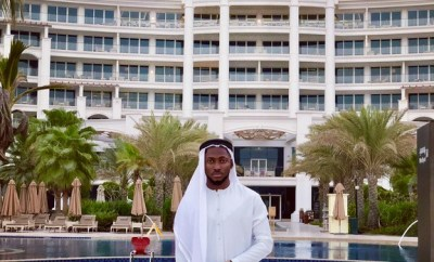 BBNaija Winner Miracle Looks Dope In Arab Attire As He Storm Dubai