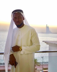 Bbn 2018 winner Miracle was pictured in dubai recently as he rock Arab outfit in style