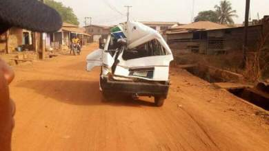 Photo of TRAILER HIT TWO VEHICLES IN OFFA, KWARA STATE